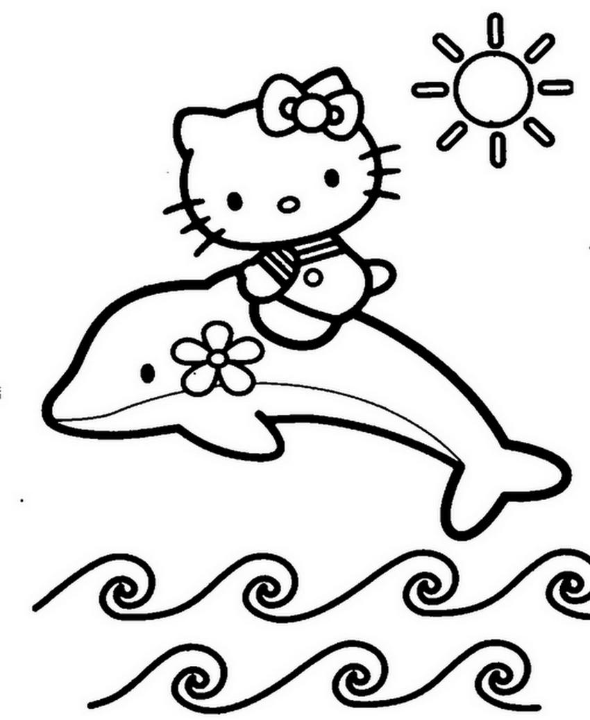 Coloriages à imprimer : Hello Kitty, numéro : 47131b5e