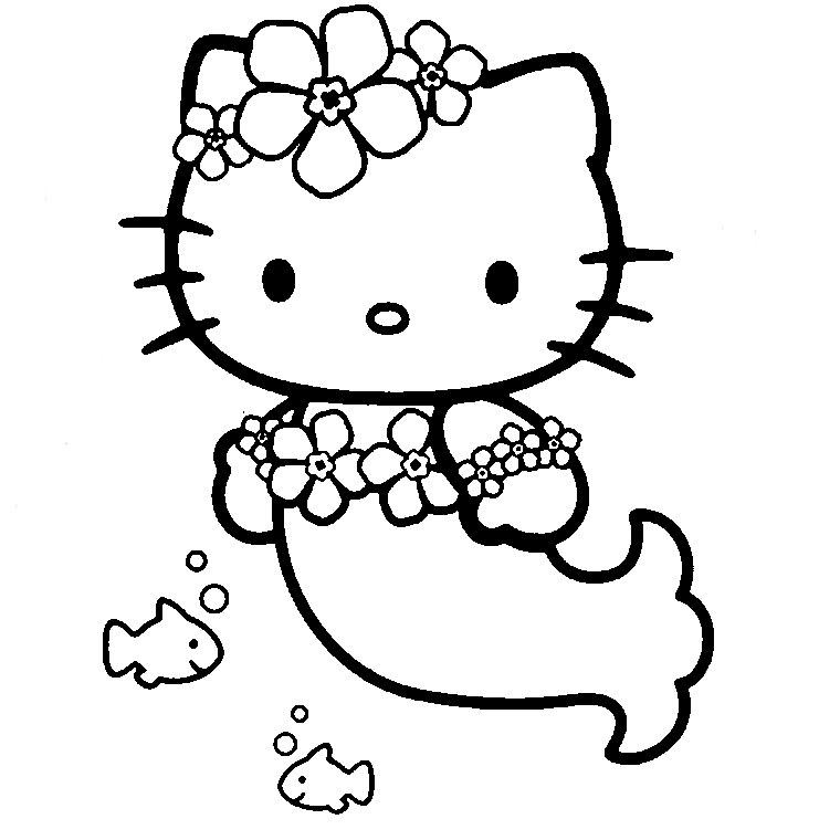 Coloriages à imprimer : Hello Kitty, numéro : 961