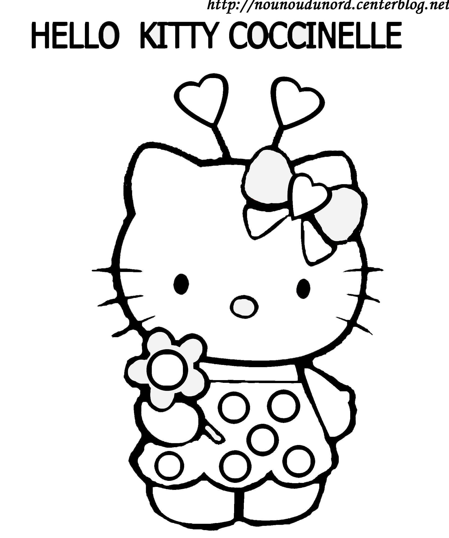 Coloriages à imprimer : Hello Kitty, numéro : b1281923