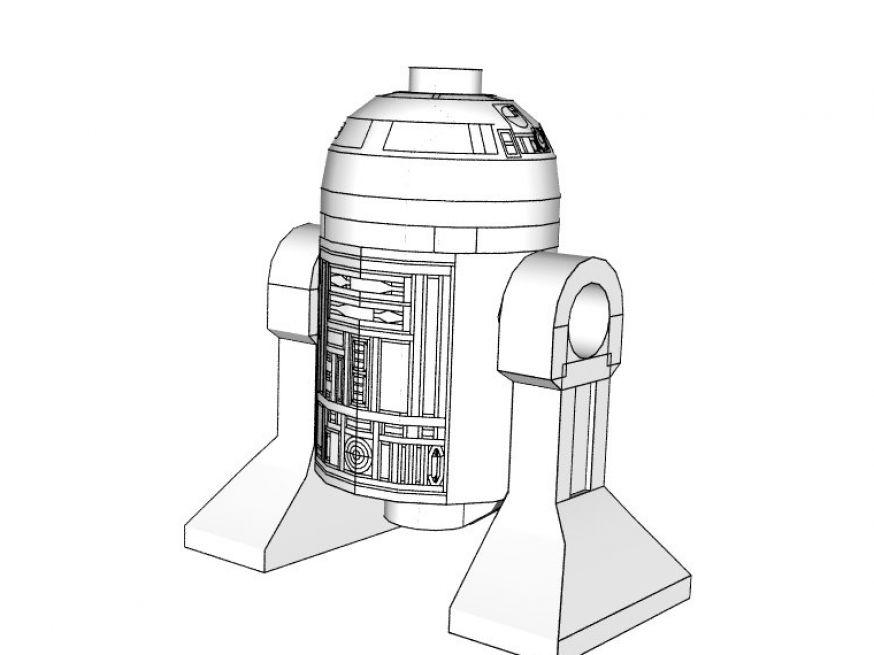 Coloriages à imprimer : Lego, numéro : 28863
