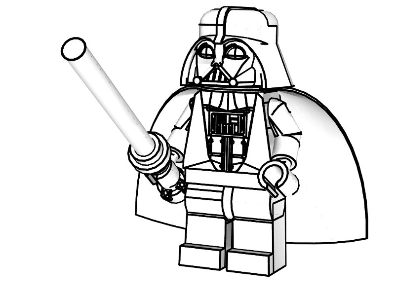 boxee lego coloring pages - photo#24