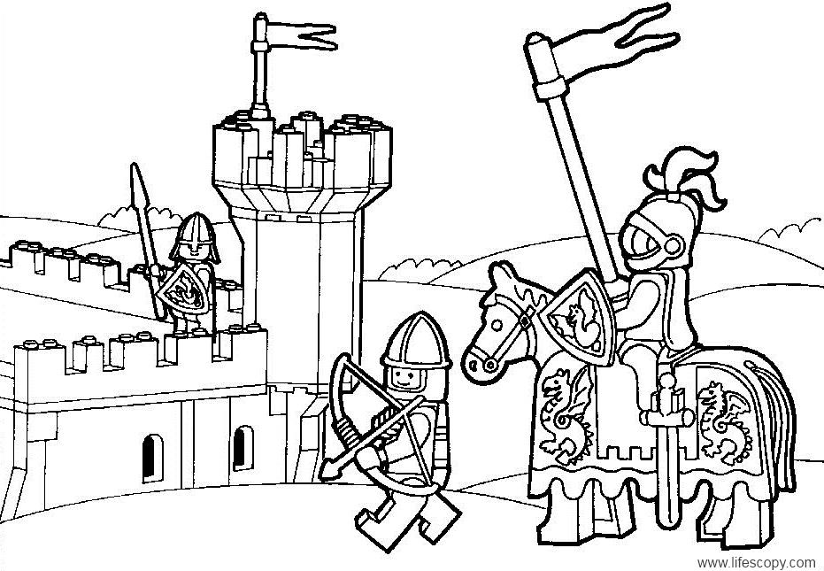 Coloriages à imprimer : Lego, numéro : 29509