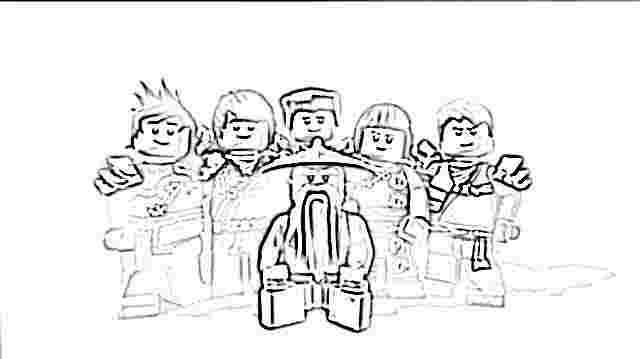 Coloriages à imprimer : Lego, numéro : 29513