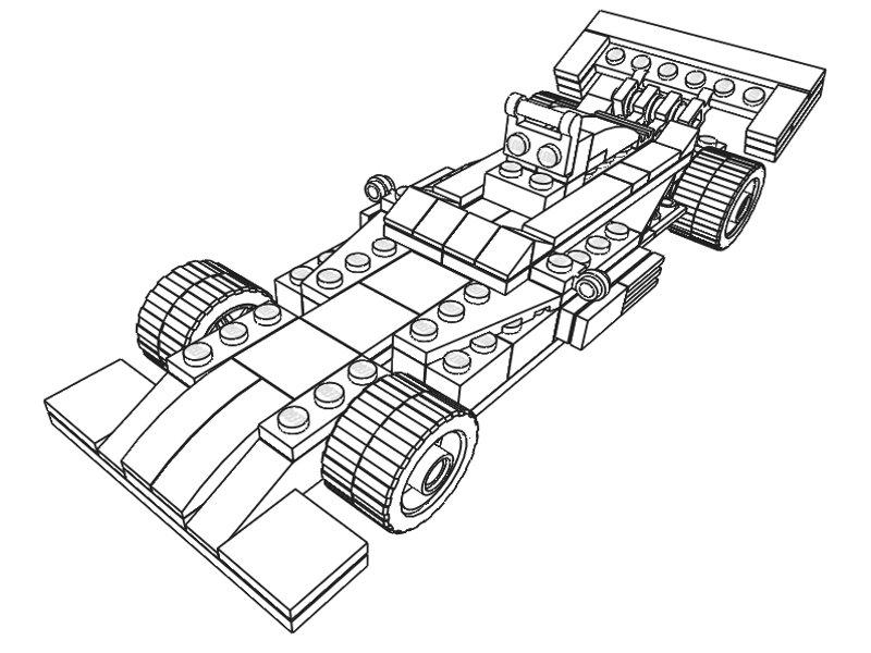 Coloriages à imprimer : Lego, numéro : 29519