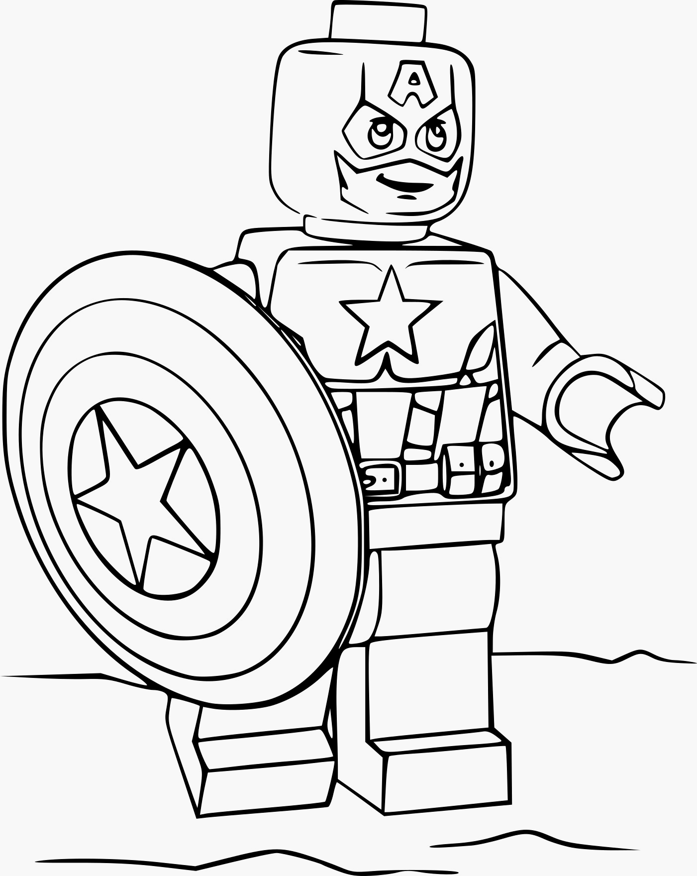Coloriages à imprimer : Lego, numéro : 2976e8ed
