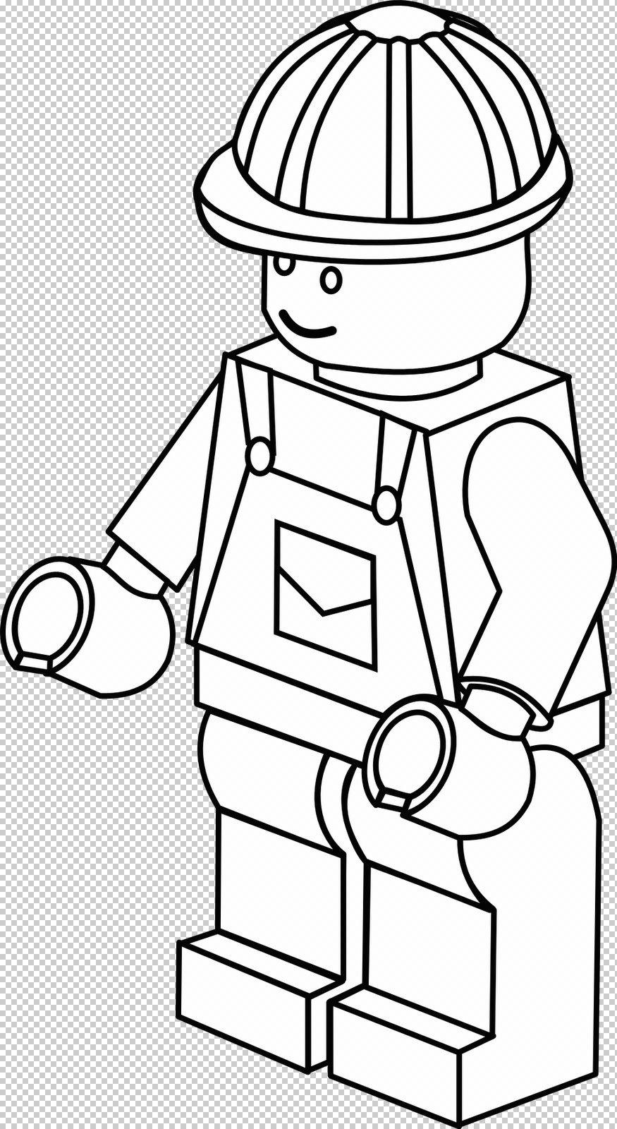 Coloriage imprimer personnages c l bres lego num ro - Coloriage personnage lego ...