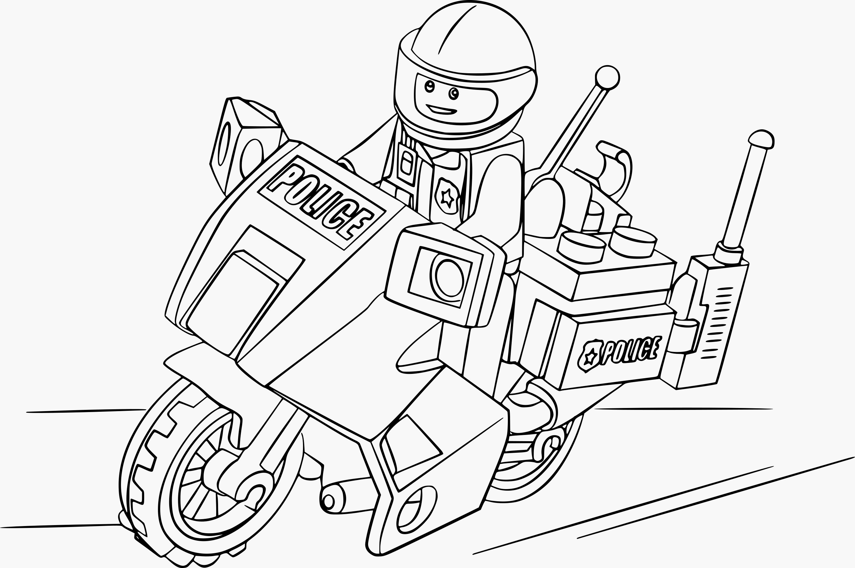 Coloriages à imprimer : Lego, numéro : 45d46ff2