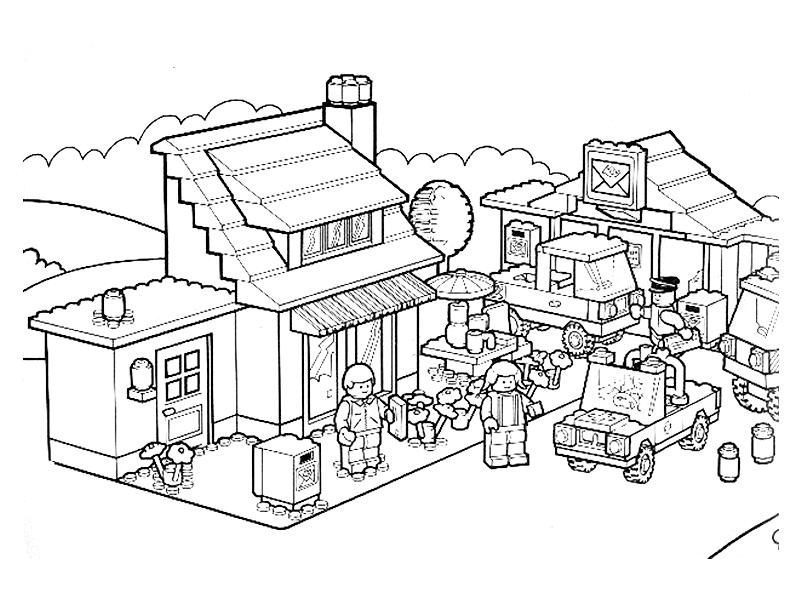 Coloriages à imprimer : Lego, numéro : 760344