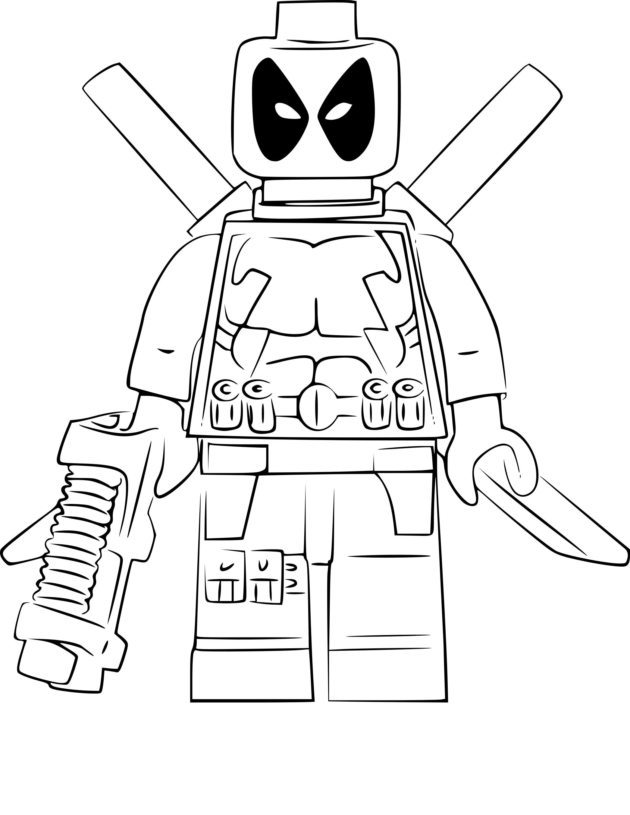 Coloriages à imprimer : Lego, numéro : fcf08f53