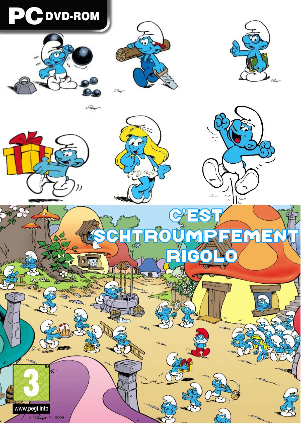 dessin en couleurs imprimer personnages clbres les schtroumpfs schtroumpf farceur numro 13878 - Schtroumpf Farceur