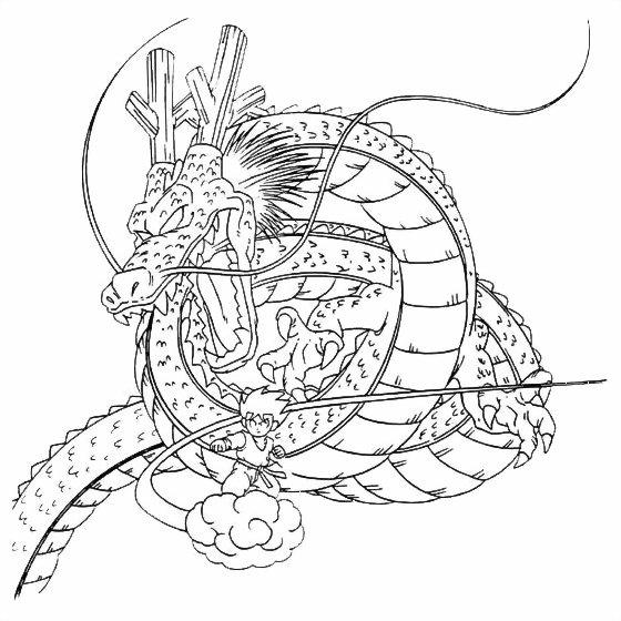 Coloriages à Imprimer : Dragon Ball, Numéro : 27897