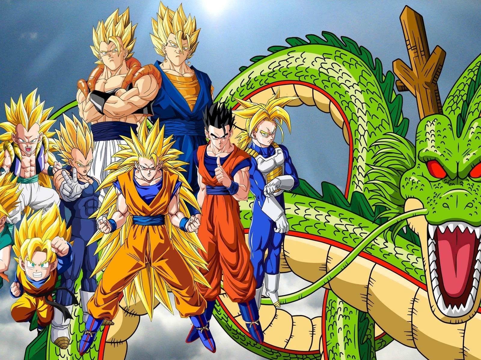Nouveau Image En Couleur De Dragon Ball Z A Imprimer