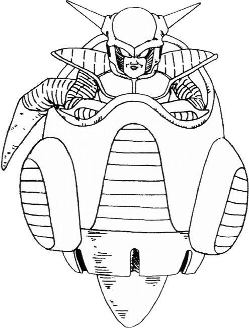 Coloriages imprimer freezer num ro 6654 - Image de dragon ball z coloriage ...