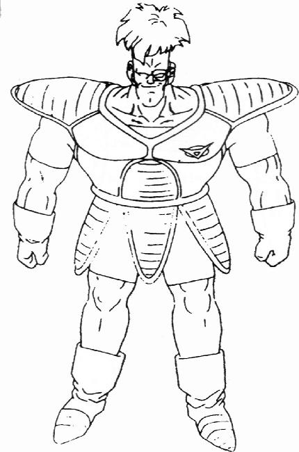 Dragon Ball Dragon Ball Z Coloriage Freezer