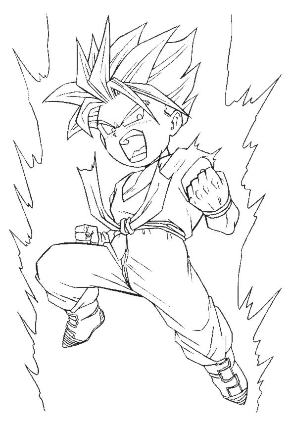 Coloriages imprimer son gohan num ro 62609 - Dessin de dragon ball super ...