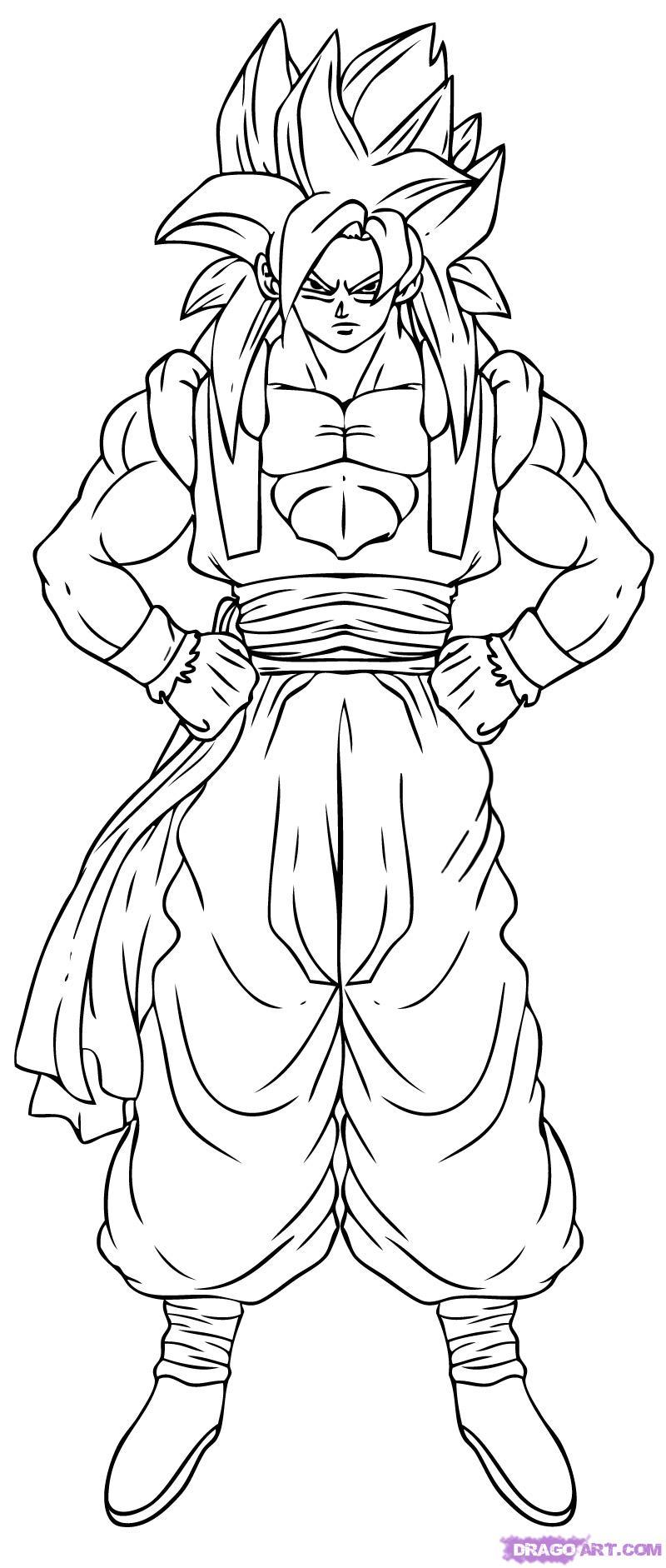 Coloriages imprimer Son Goku num ro 282095