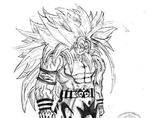 Dibujos De Goku Y Sus Transformaciones Para Colorear: Coloriages à Imprimer : Vegeta, Numéro : 218146