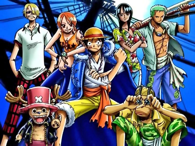 Dessin One Piece Couleur