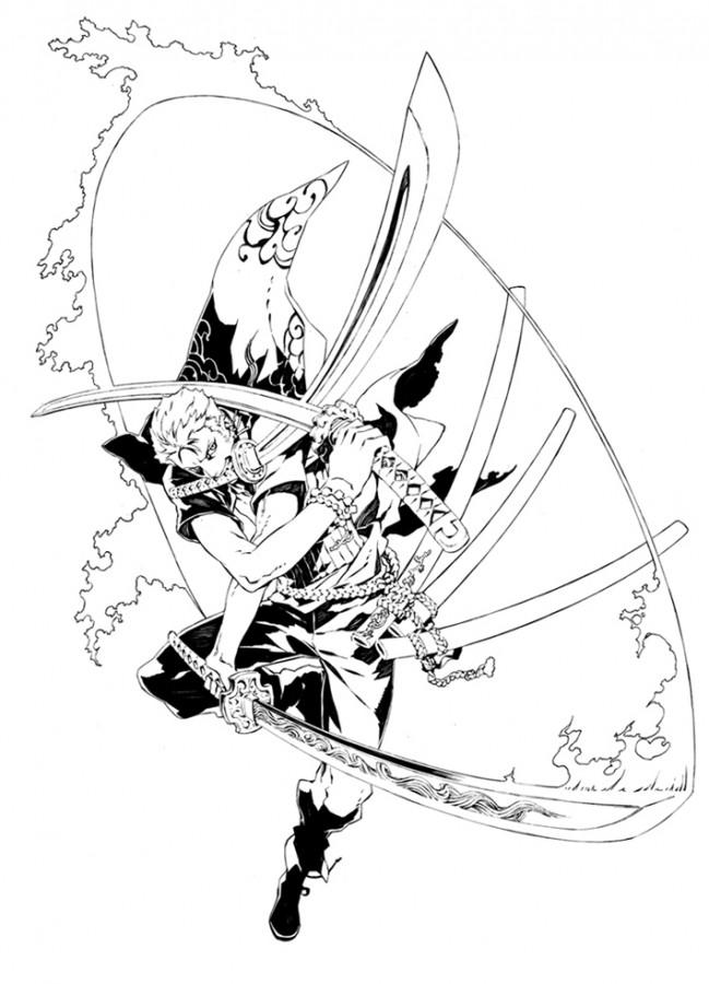 Coloriages à Imprimer One Piece Numéro 28086