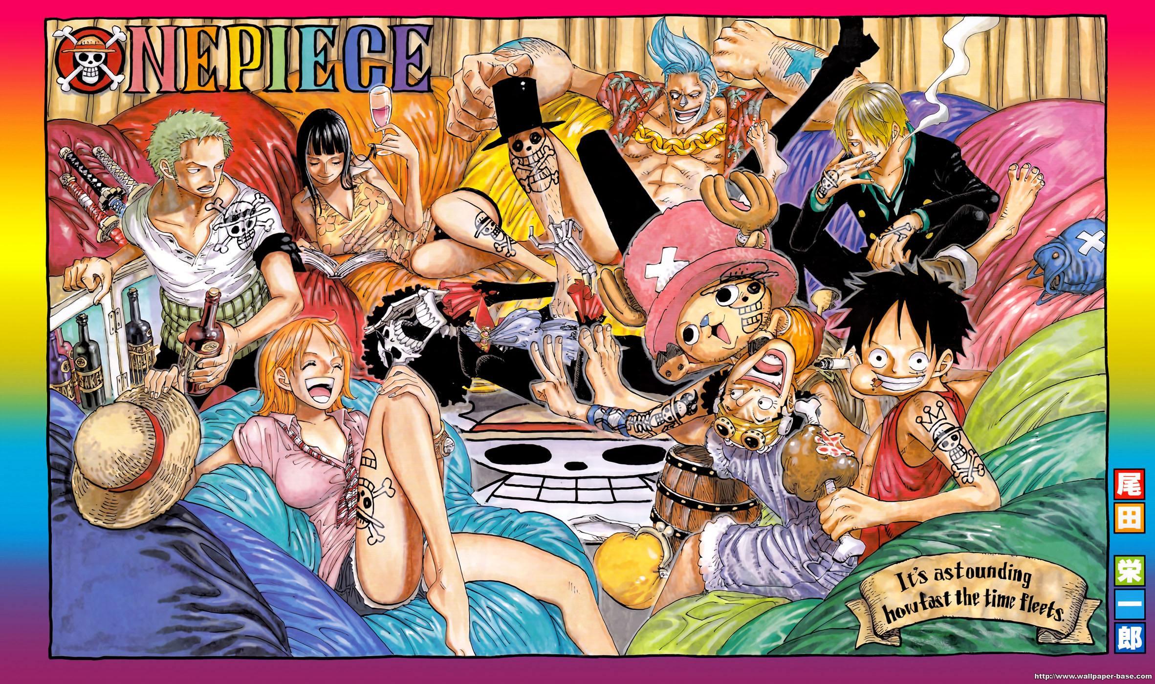 en couleurs à imprimer personnages célèbres mangas one piece