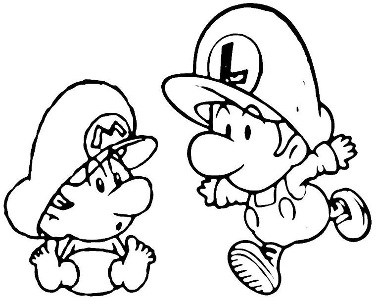 Coloriages à imprimer : Nintendo, numéro : 21738