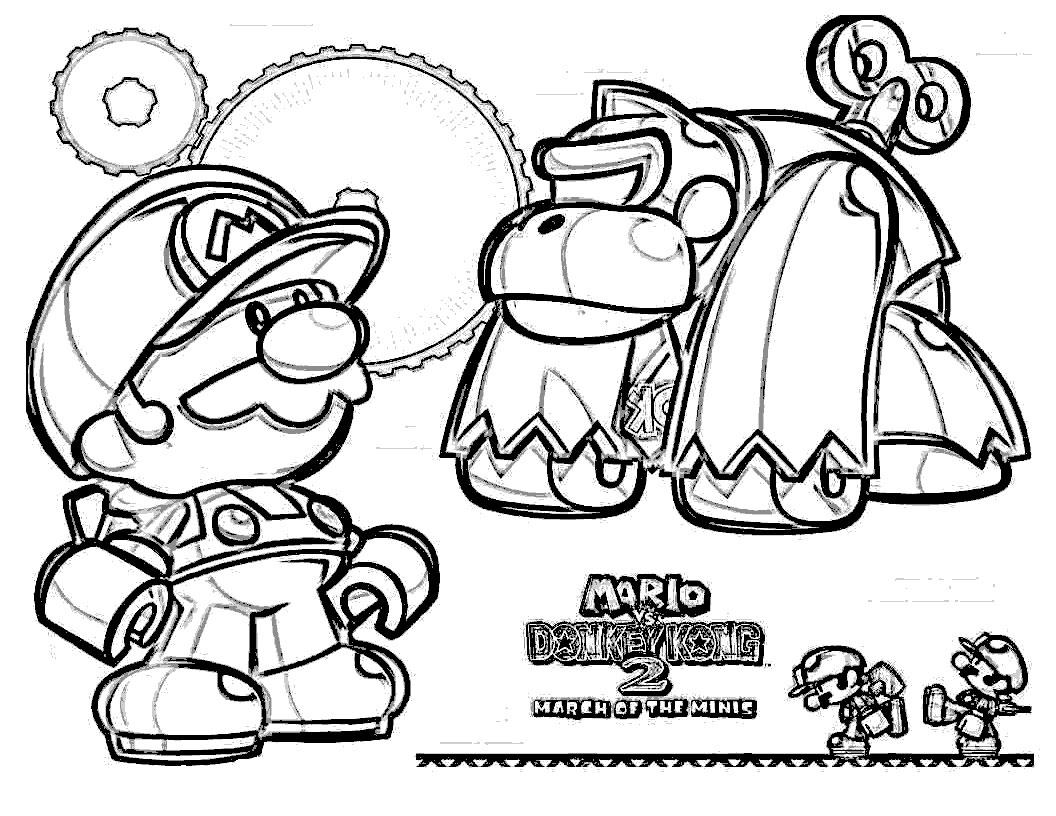 Lujoso Burro Kong Para Colorear Imprimible Motivo - Dibujos Para ...
