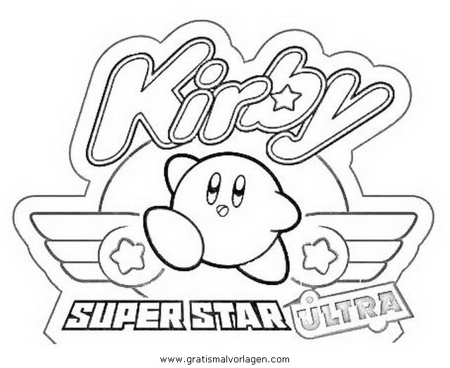 Coloriages imprimer kirby num ro 268179 for Nintendo land coloring pages