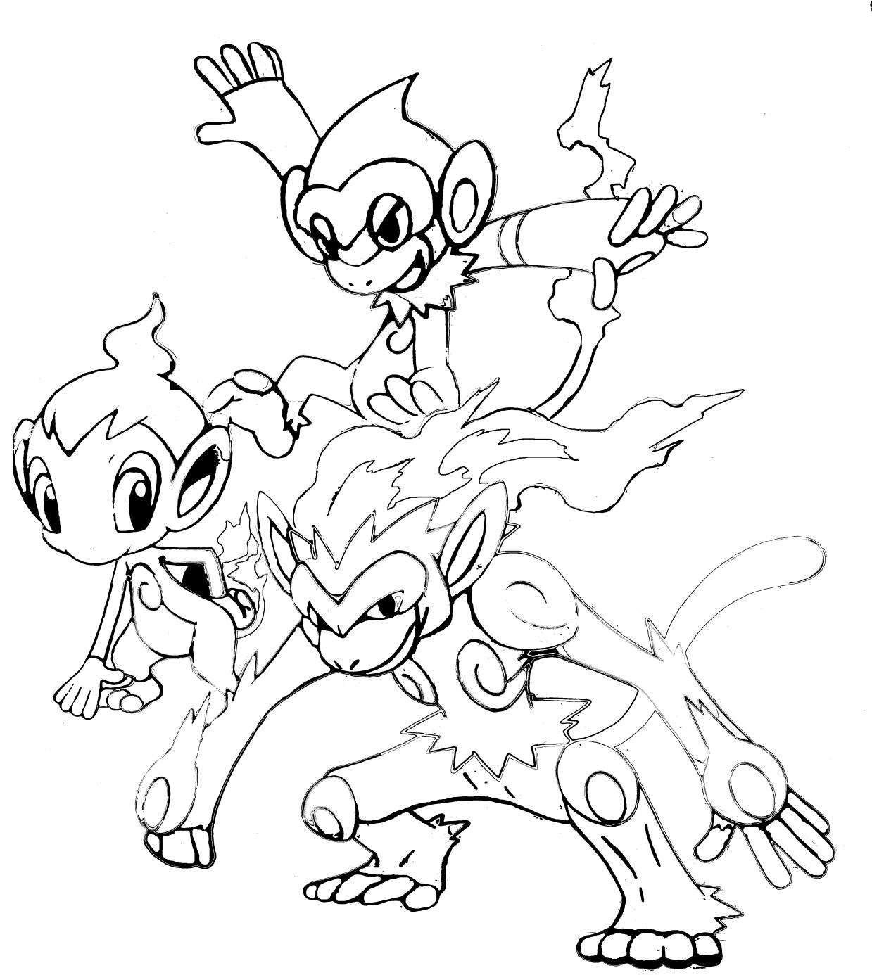 Coloriages 224 Imprimer Pokemon Num 233 Ro 128967