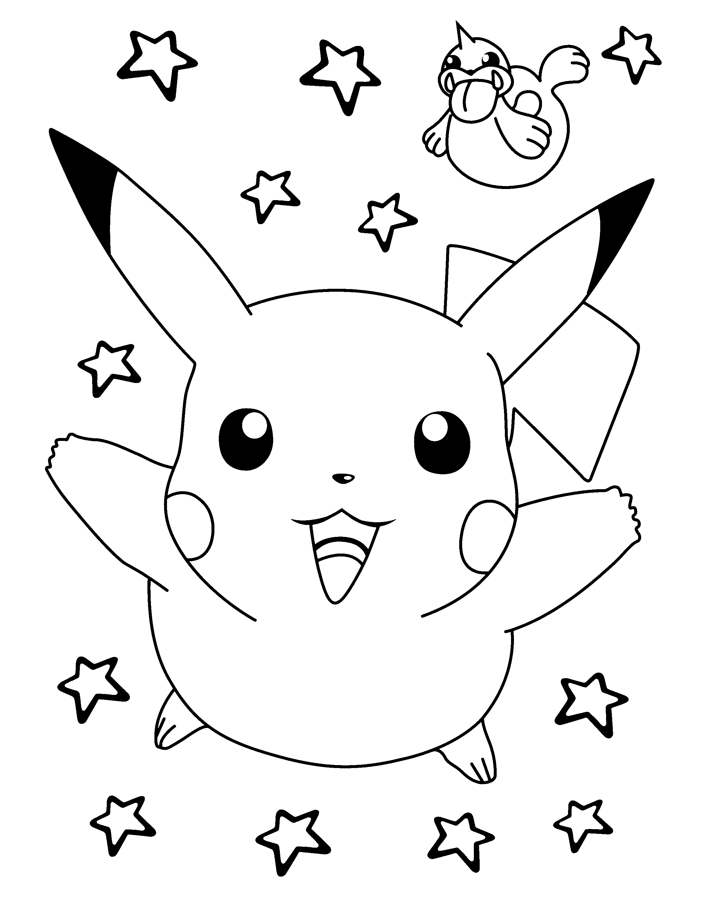 coloriages  u00e0 imprimer   pokemon  num u00e9ro   226222
