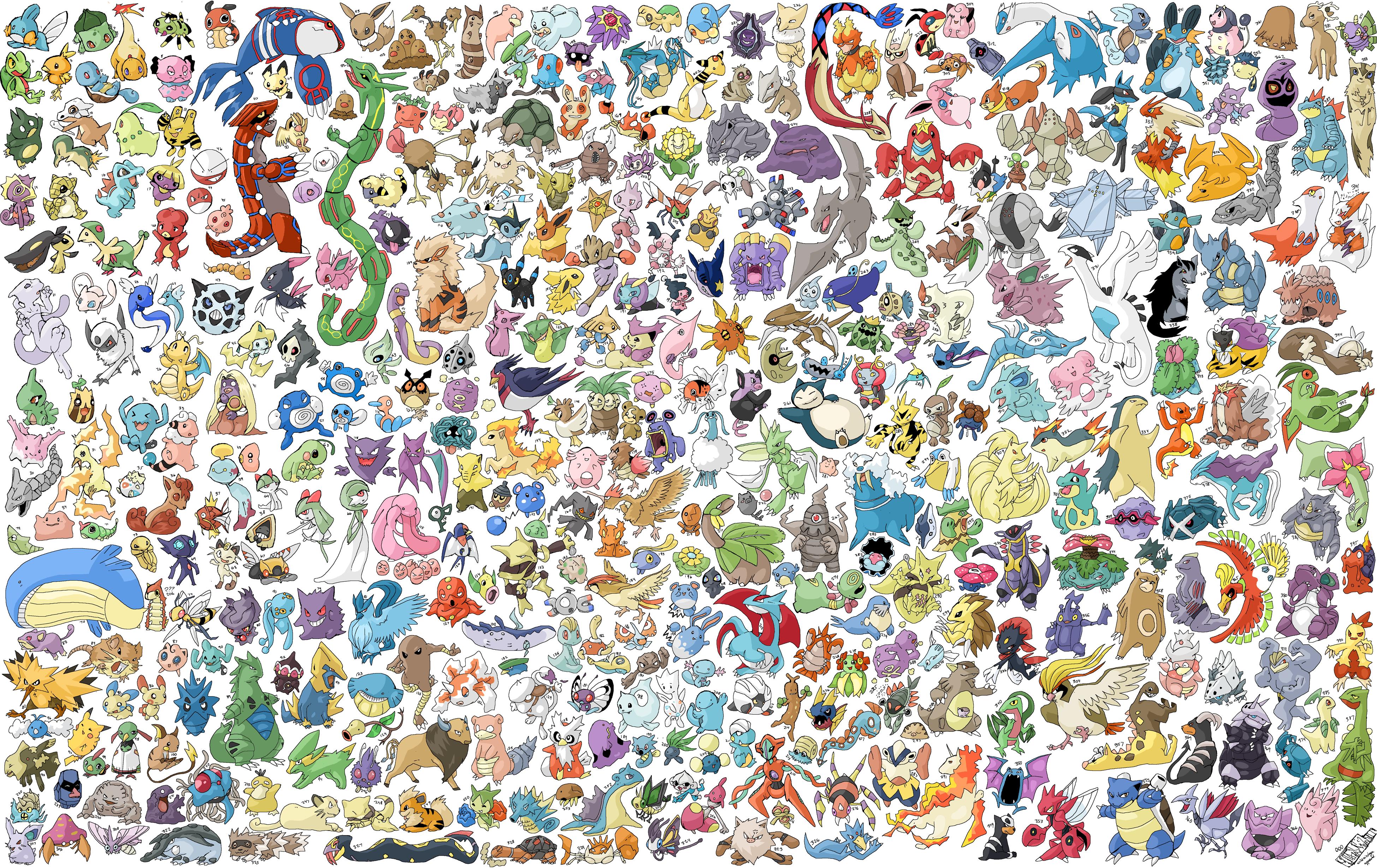 Dessins En Couleurs à Imprimer Pokemon Numéro 683436