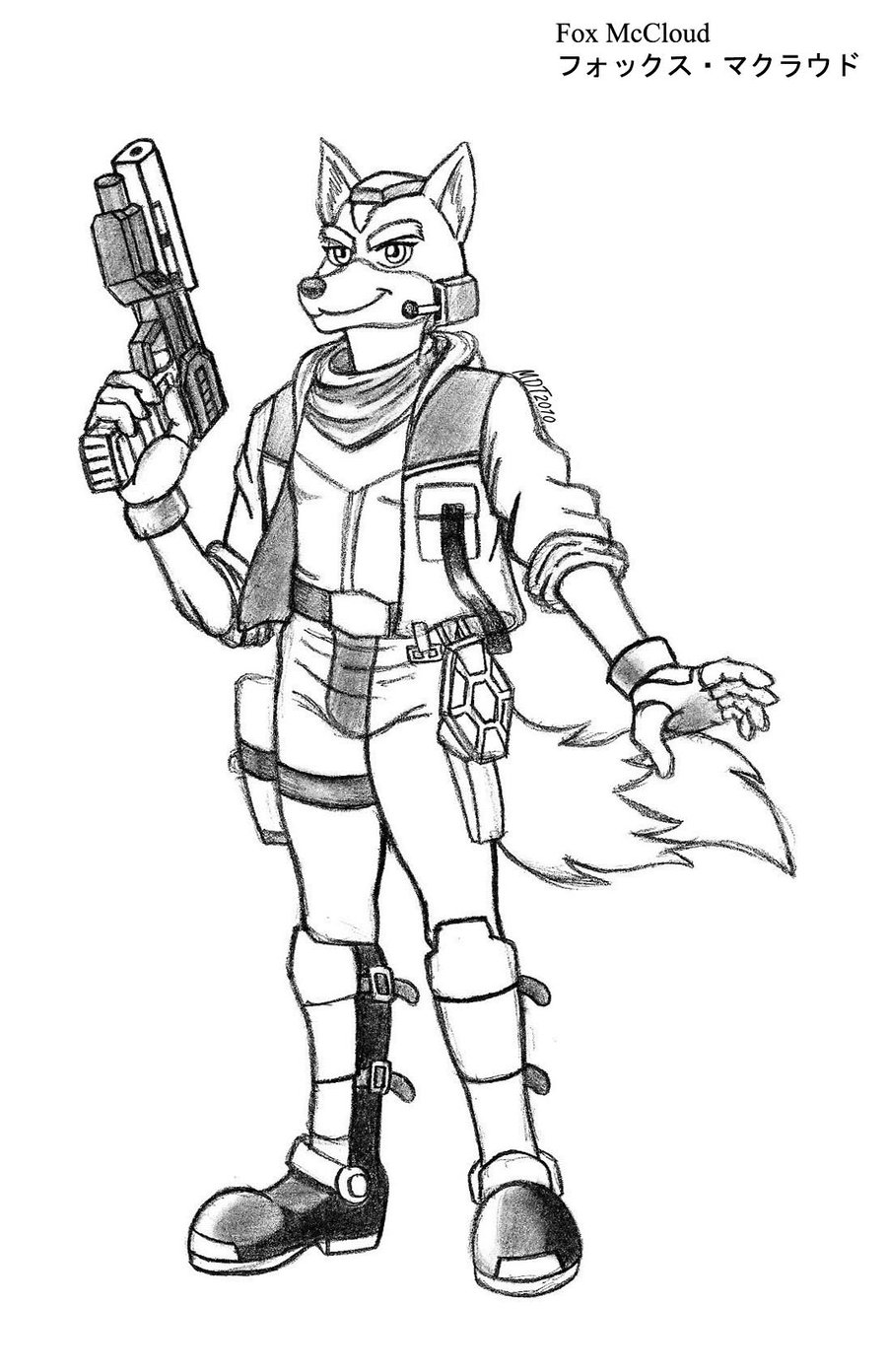 Star Fox Free Coloring Pages