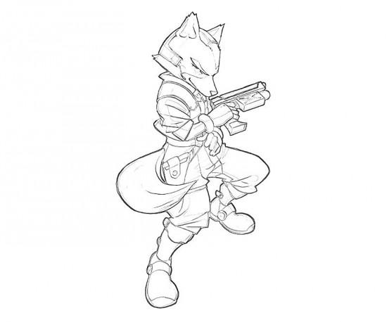 Coloriages à Imprimer Star Fox Numéro 686968