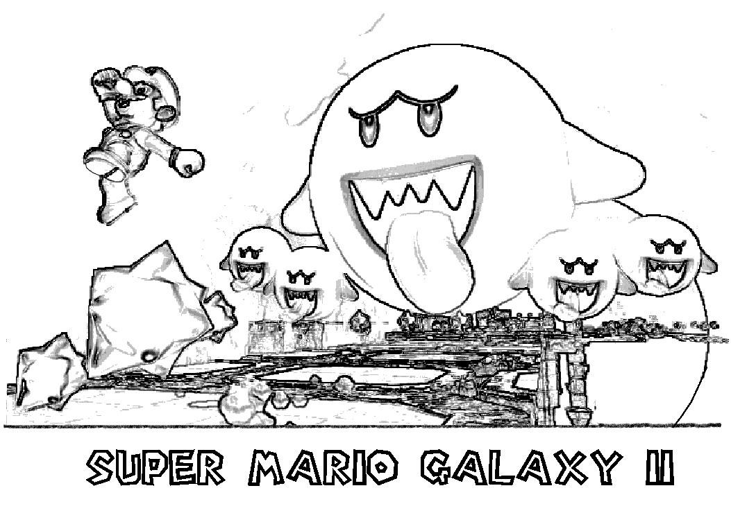 Coloriages à Imprimer : Super Mario, Numéro : 193269