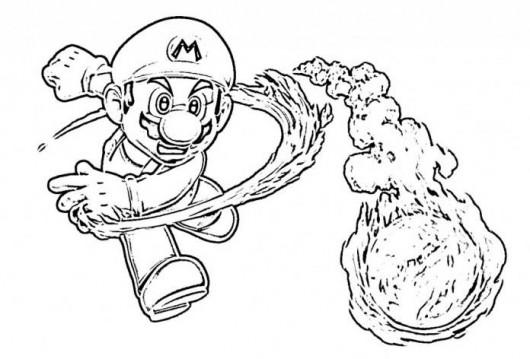 Coloriages à Imprimer : Super Mario, Numéro : 193270