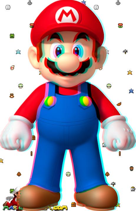 Dessin Mario En Couleur