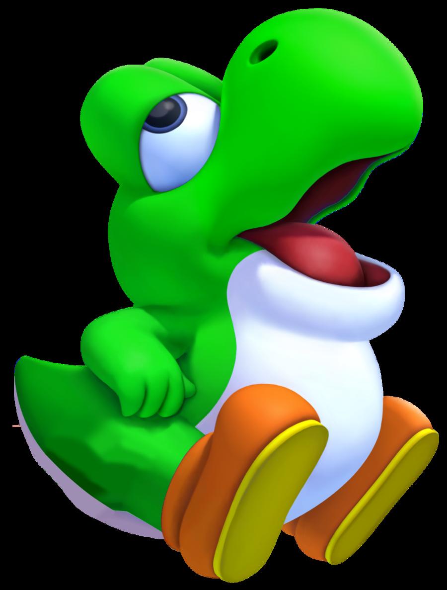 Nintendo Goomba Toys N Joys : Dessins en couleurs à imprimer yoshi numéro