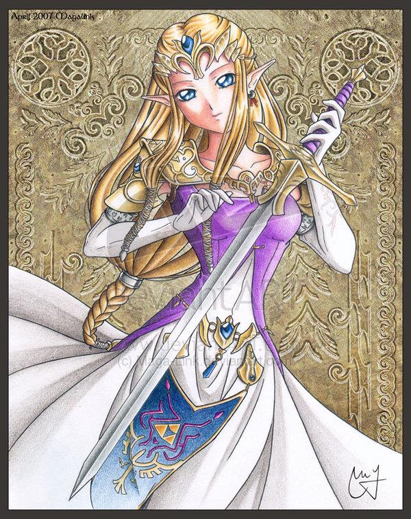 Dessins en couleurs imprimer zelda num ro 17335 - La princesse zelda ...