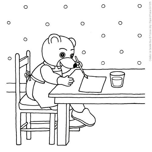 Coloriages imprimer petit ours brun num ro 63476 - Coloriage petit ours brun a imprimer ...