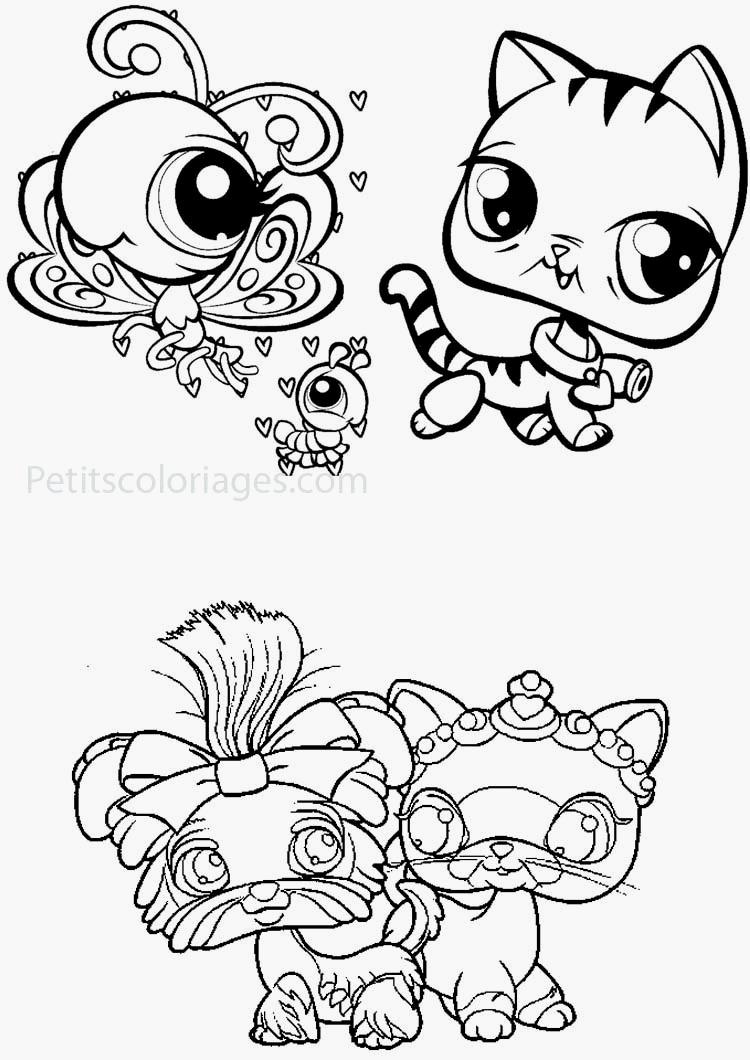 Coloriages à imprimer : Petshop, numéro : 3151d072