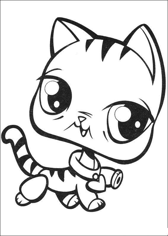 Coloriage imprimer personnages c l bres petshop - Boutique free angouleme numero ...