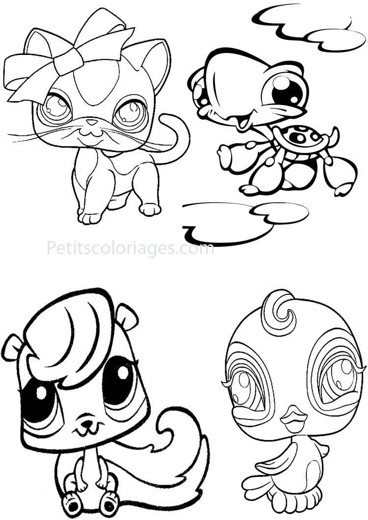 Coloriages à imprimer : Petshop, numéro : 65124936