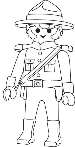 Coloriages imprimer playmobil num ro 28883 - Coloriage police ...