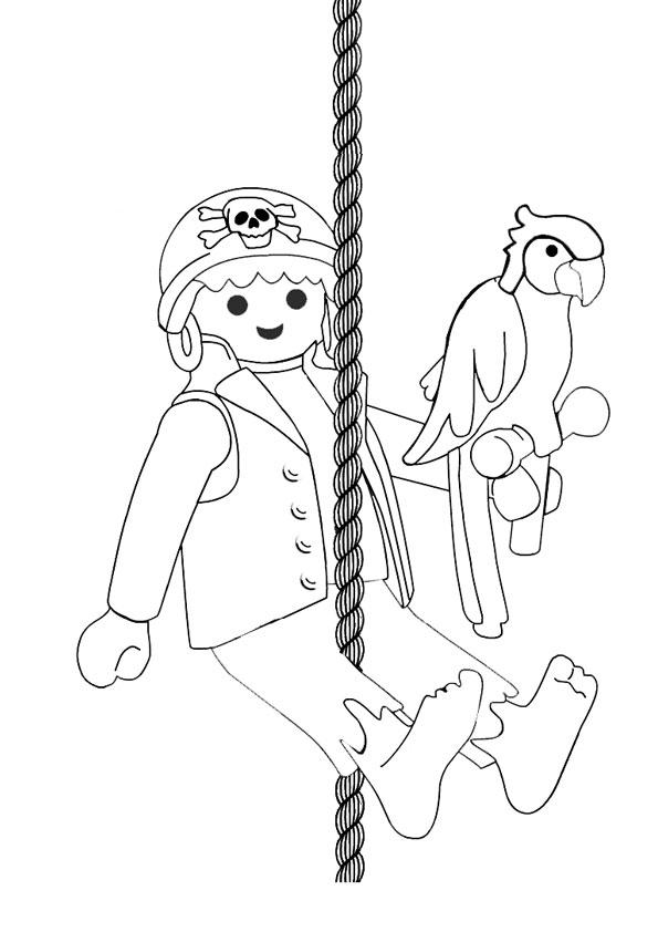 Coloriage à imprimer : Personnages célèbres - Playmobil numéro 29522