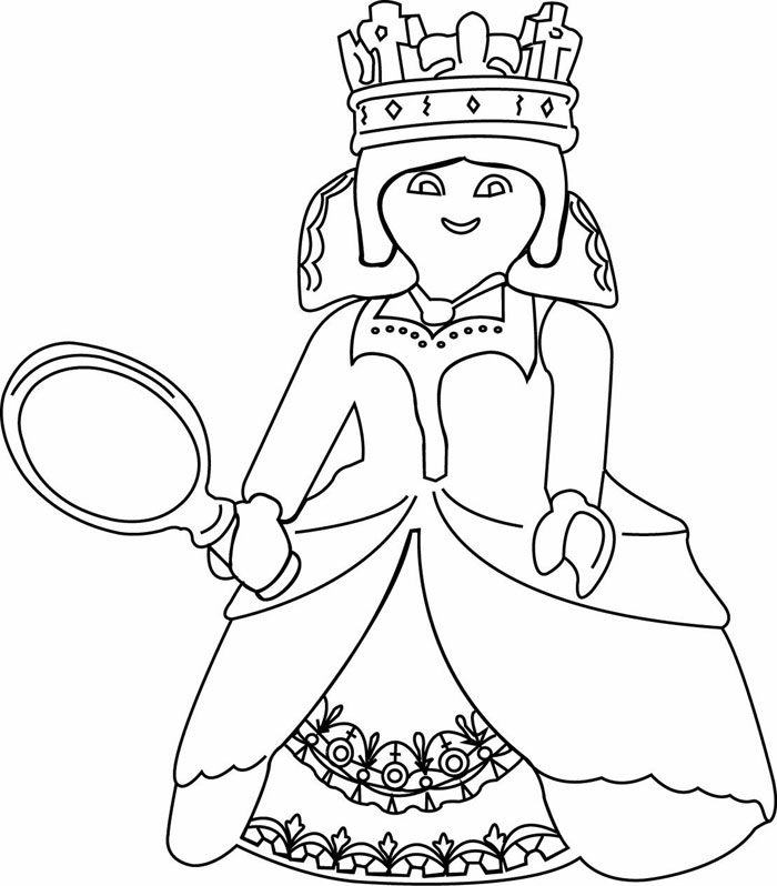 Fee Playmobil Coloriage Licorne.Coloriages A Imprimer Playmobil Numero 29524
