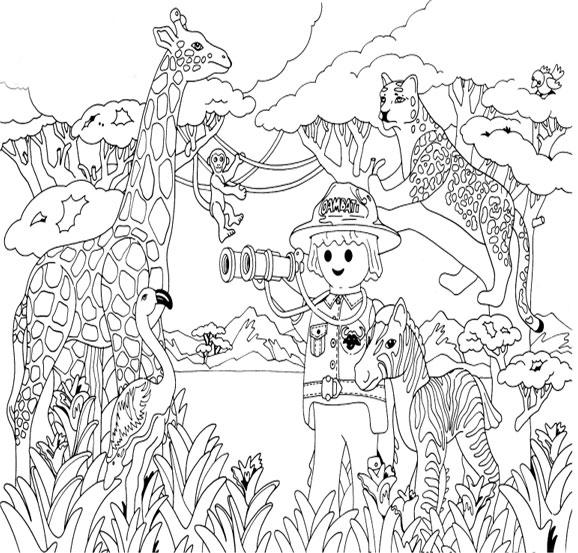 Coloriages à imprimer : Playmobil, numéro : 29527