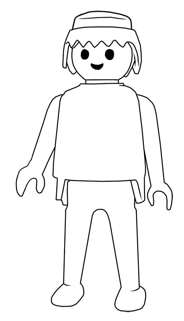 Coloriages à imprimer : Playmobil, numéro : 346777
