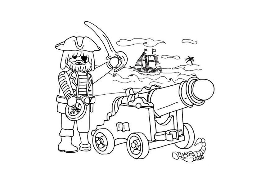 Coloriage à imprimer : Personnages célèbres - Playmobil numéro 756062