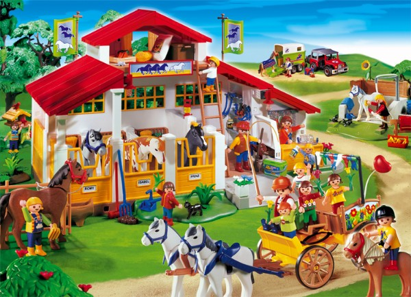 Dessins en couleurs imprimer playmobil num ro 82571 - Dessin du ranch ...