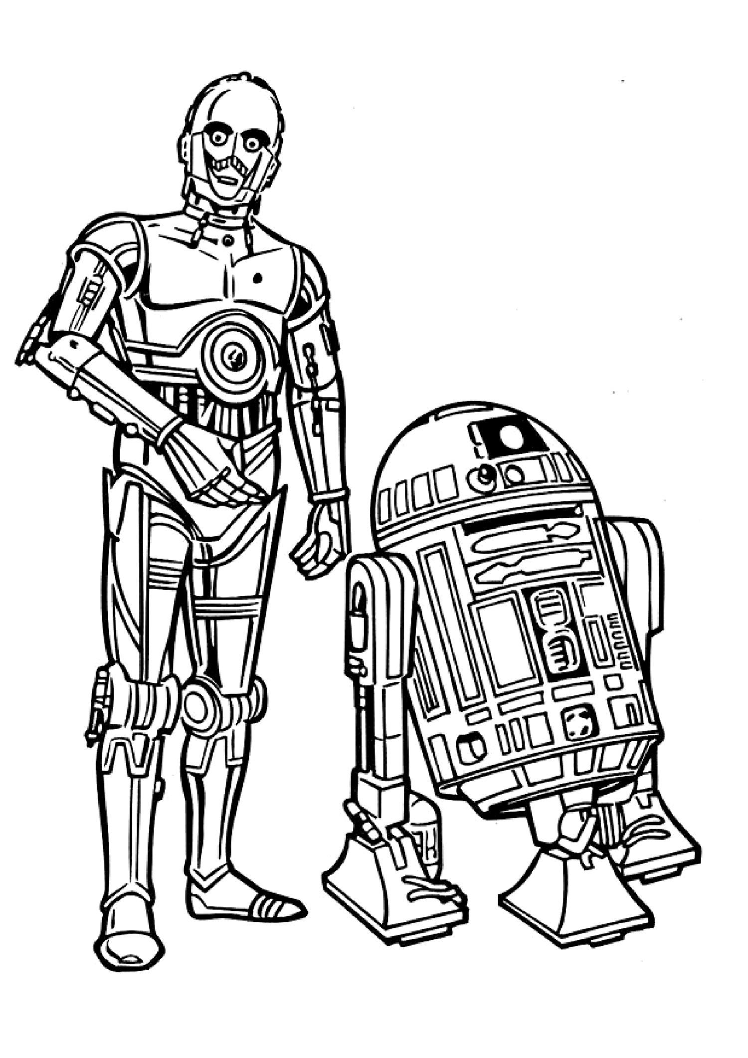 Coloriages à imprimer : Star Wars, numéro : 16214548