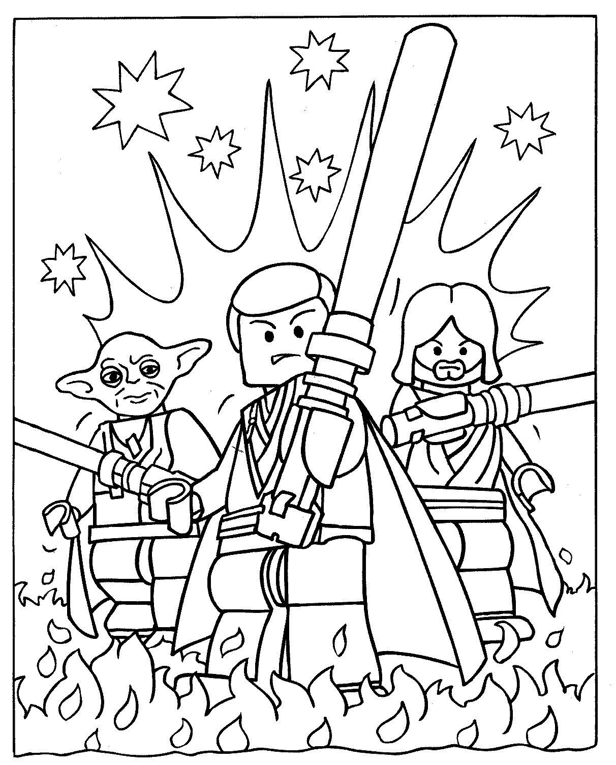 Coloriages à imprimer : Star Wars, numéro : 16558
